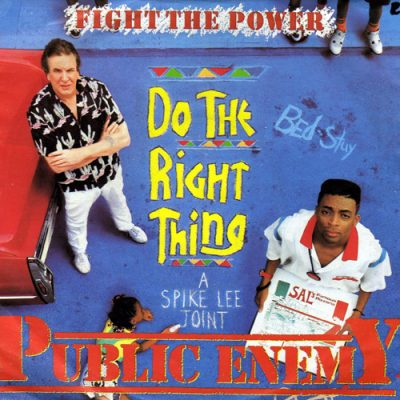 Public Enemy – Fight The Power (CDS) (1989) (FLAC + 320 kbps)