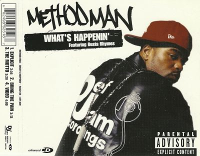 Method Man – What's Happenin' (CDS) (2004) (FLAC + 320 kbps)
