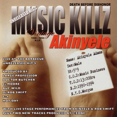 Akinyele – Live At The Barbecue (Unreleased Hits) (CD) (2004) (FLAC + 320 kbps)