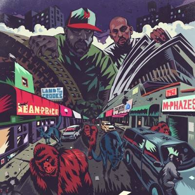 Sean Price & M-Phazes – Land Of The Crooks EP (WEB) (2013) (FLAC + 320 kbps)