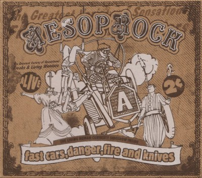 Aesop Rock – Fast Cars, Danger, Fire And Knives EP (CD) (2004) (FLAC + 320 kbps)