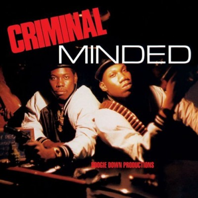 Boogie Down Productions – Criminal Minded (Reissue CD) (1987-2001) (FLAC + 320 kbps)