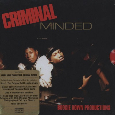 Boogie Down Productions – Criminal Minded (Elite Edition 3xCD) (1987-2010) (FLAC + 320 kbps)