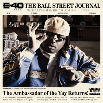 E-40 – The Ball Street Journal (CD) (2008) (FLAC + 320 kbps)
