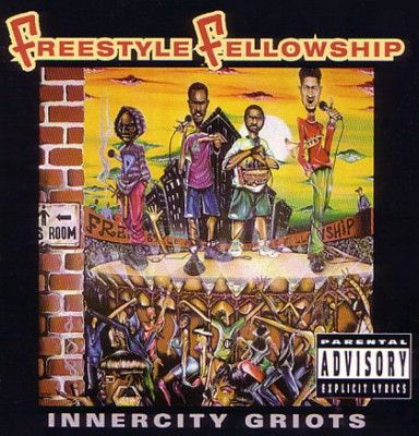 Freestyle Fellowship‎ – Innercity Griots (CD) (1993) (FLAC + 320 kbps)