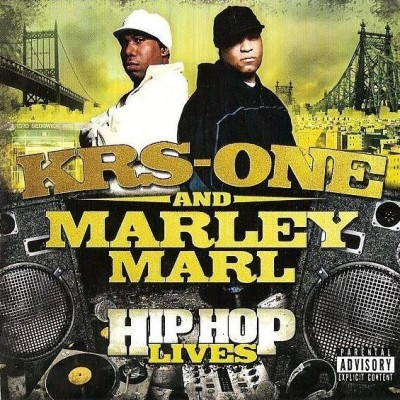 KRS-One & Marley Marl – Hip Hop Lives (Japan Edition CD) (2007) (FLAC + 320 kbps)