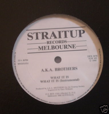 A.K.A. Brothers – What It Is (VLS) (1990) (FLAC + 320 kbps)