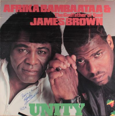 Afrika Bambaataa & (The Godfather Of Soul) James Brown – Unity (EP) (1984) (Vinyl) (FLAC + 320 kbps)