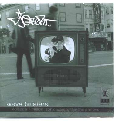 DJ Q-Bert – Wave Twisters, Episode 7 – Million Sonic Wars Within The Protons (CD) (1998) (FLAC + 320 kbps)