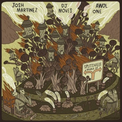 Josh Martinez, Awol One And DJ Moves – Splitsville: Double EP (CD) (2007) (FLAC + 320 kbps)