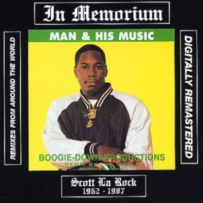 Boogie Down Productions – Man & His Music (Remixes From Around The World) (Remastered CD) (1988-2007) (FLAC + 320 kbps)