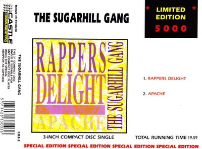 Sugarhill Gang ‎– Rappers Delight / Apache (1988) (CDS) (320 kbps)