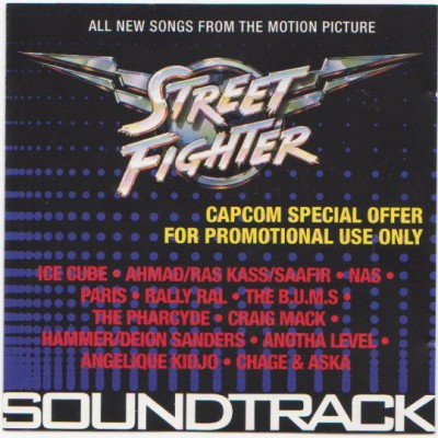 OST ‎– Street Fighter (CD) (1994) (FLAC + 320 kbps)