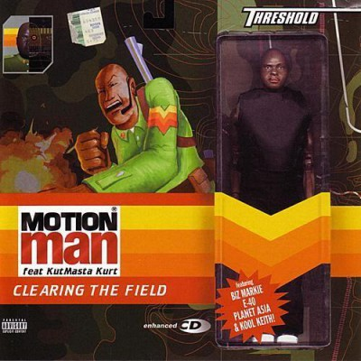 Motion Man – Clearing The Field (CD) (2002) (FLAC + 320 kbps)