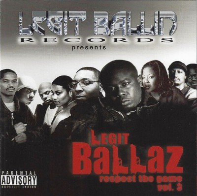 Twista Presents – Legit Ballin' Vol. 3: Respect The Game (CD) (2002) (FLAC + 320 kbps)