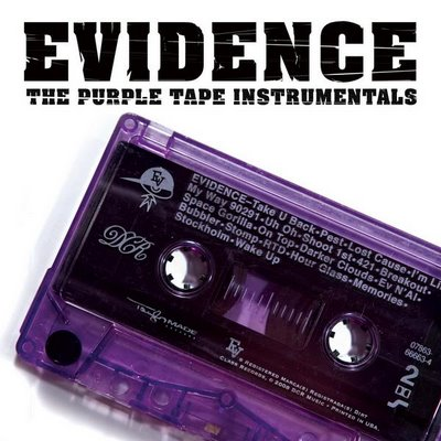 Evidence – The Purple Tape Instrumentals (CD) (2008) (FLAC + 320 kbps)