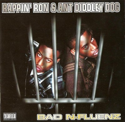 Rappin' Ron & Ant Diddley Dog – Bad N-Fluenz (CD) (1995) (FLAC + 320 kbps)