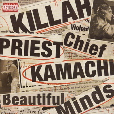 Killah Priest & Chief Kamachi – Beautiful Minds (CD) (2008) (FLAC + 320 kbps)