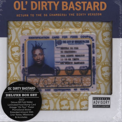 Ol' Dirty Bastard – Return To The 36 Chambers: The Dirty Version (Deluxe Edition 2xCD) (1995-2011) (FLAC + 320 kbps)