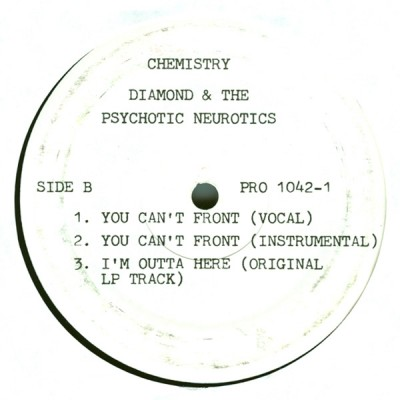Diamond And The Psychotic Neurotics ‎– I'm Outta Here (Remix) (Promo VLS) (1993) (320 kbps)
