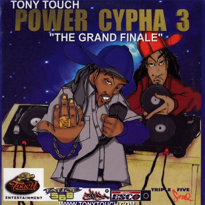 "Tony Touch ‎– Power Cypha 3 ""The Grand Finale"" (2xCD) (1999) (FLAC + 320 kbps)"