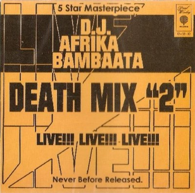 "D.J. Afrika Bambaata – Death Mix ""2"" (CD) (2006) (FLAC + 320 kbps)"