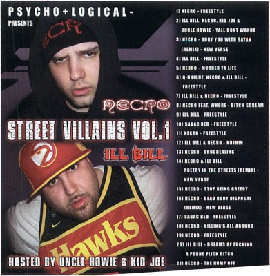 Necro & Ill Bill – Street Villains Vol. 1 (CD) (2003) (FLAC + 320 kbps)