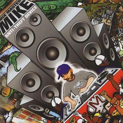 Mix Master Mike ‎– Anti-Theft Device (CD) (1998) (FLAC + 320 kbps)