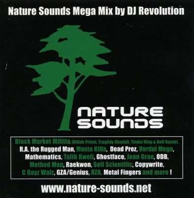 DJ Revolution – Nature Sounds Mega Mix (CD) (2005) (FLAC + 320 kbps)