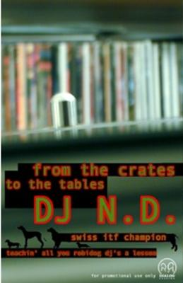 DJ N.D. – From The Crates To The Tables (Cassette) (2000) (FLAC + 320 kbps)