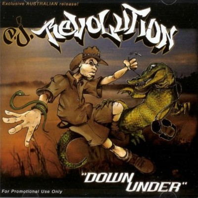 DJ Revolution – Down Under (CD) (2003) (FLAC + 320 kbps)