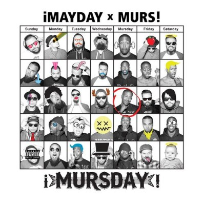 ¡Mayday! & Murs – Mursday (Deluxe Edition) (CD) (2014) (FLAC + 320 kbps)