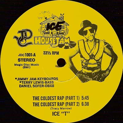 Ice-T – The Coldest Rap / Cold Wind-Madness (VLS) (1983) (FLAC + 320 kbps)