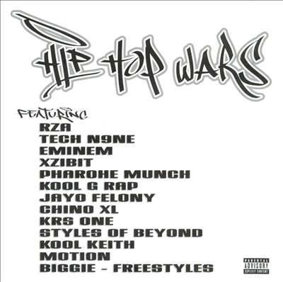 VA – Hip Hop Wars (CD) (1999) (FLAC + 320 kbps)