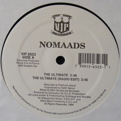 Nomaads – The Ultimate (VLS) (1994) (FLAC + 320 kbps)