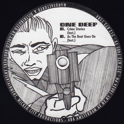 One Deep – Crime Stories / As The Beat Goes On (VLS) (1995) (FLAC + 320 kbps)