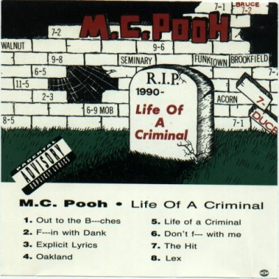 Pooh-Man – Life Of A Criminal (CD) (1991) (FLAC + 320 kbps)