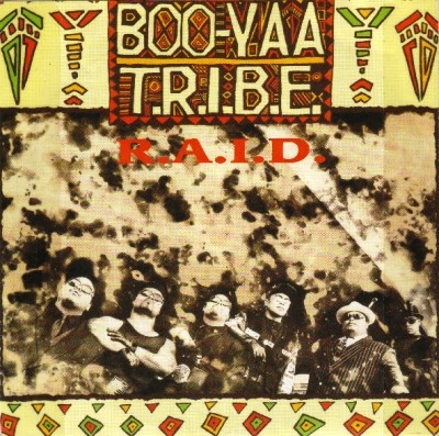 Boo Yaa-T.R.I.B.E. – R.A.I.D. (VLS) (1989) (FLAC + 320 kbps)