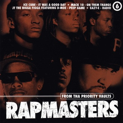 VA – Rapmasters: From Tha Priority Vaults, Volume 6 (CD) (1997) (FLAC + 320 kbps)