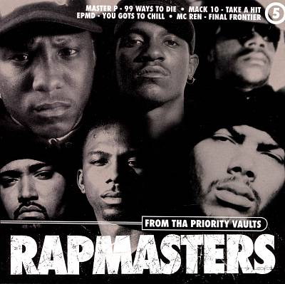 VA – Rapmasters: From Tha Priority Vaults, Volume 5 (CD) (1996) (320 kbps)