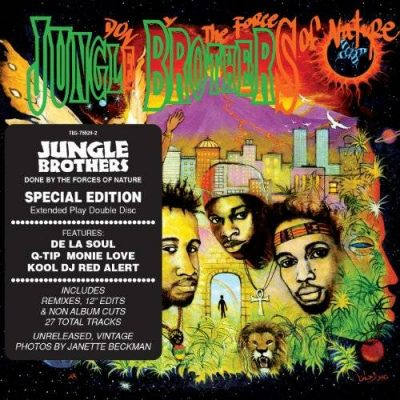 Jungle Brothers – Done By The Forces Of Nature (Special Edition) (2xCD) (1989-2012) (FLAC + 320 kbps)