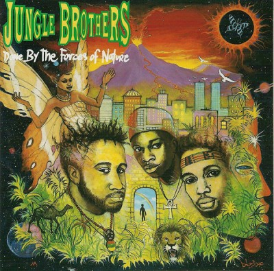 Jungle Brothers – Done By The Forces Of Nature (CD) (1989) (FLAC + 320 kbps)