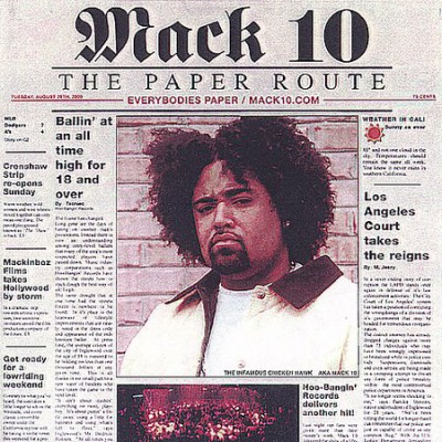 Mack 10 – The Paper Route (CD) (2000) (FLAC + 320 kbps)