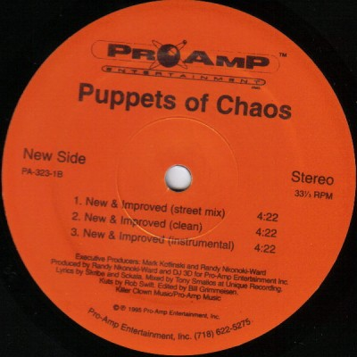 Puppets Of Chaos - Tru Dat -bw- New & Improved