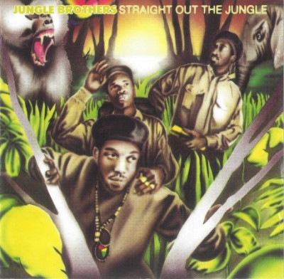 Jungle Brothers – Straight Out The Jungle (CD) (1988) (FLAC + 320 kbps)