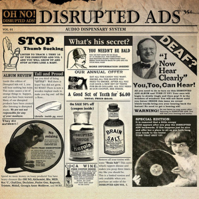 Oh No – Disrupted ADS (Audio Dispensary System) (CD) (2013) (FLAC + 320 kbps)