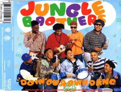 Jungle Brothers – Doin' Our Own Dang (CDS) (1990) (FLAC + 320 kbps)