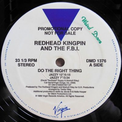 redhead kingpin do the right thing