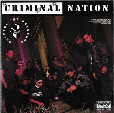 Criminal Nation – Release The Pressure (CD) (1990) (FLAC + 320 kbps)