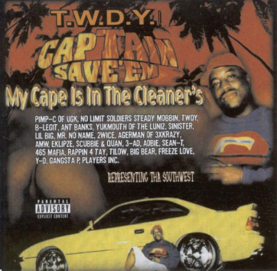 VA – Captain Save 'Em: My Cape Is In The Cleaners (CD) (2000) (FLAC + 320 kbps)
